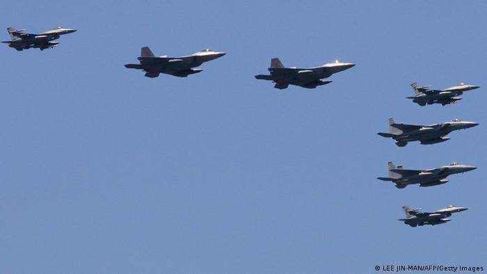 У військових навчаннях Vigilant Ace візьмуть участь винищувачі F-22 (на фото)