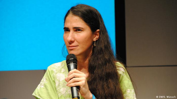 Yoani Sánchez auf der re:publica 2013 in Berlin (Foto: DW/Silke Wünsch)