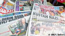 Titelseiten türkischer Zeitungen zum NSU-Prozess