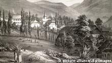 Frankreich Elsass Lithographie von Waldersbach (picture-alliance/akg-images)