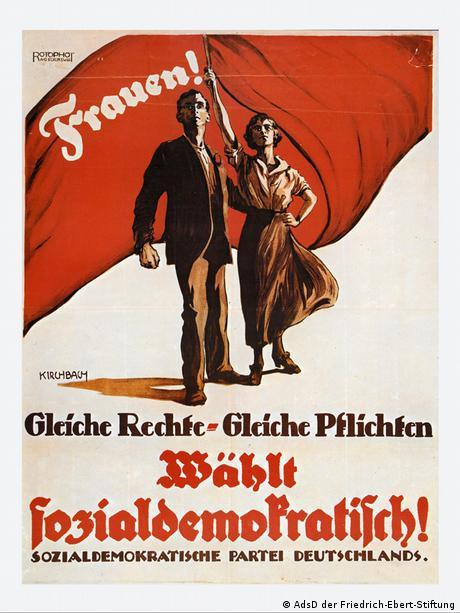 150 Jahre SPD Wahlplakat 1919