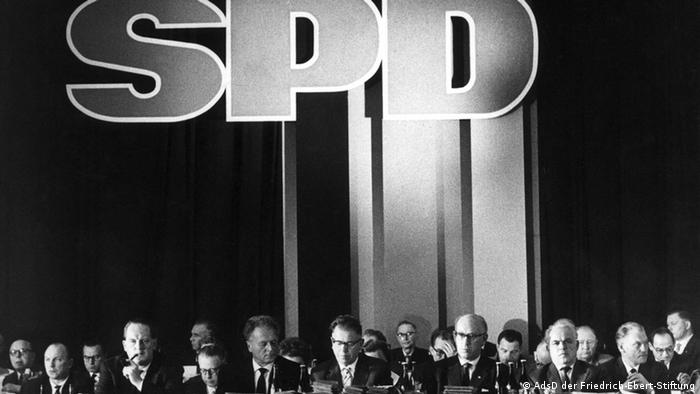 Съезд СДПГ в 1959 году