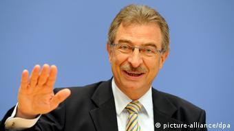 Dieter Kempf, Präsidiumsmitglied des Branchenverbandes Bitkom (Foto: dpa)