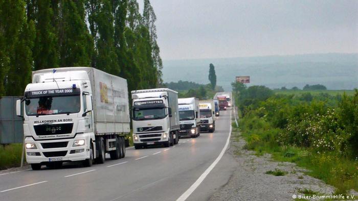 Humanitarni konvoj su pomogle mnoge organizacije, udruženja i pojedinci