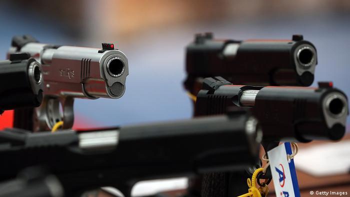 Symbolbild - Pistole