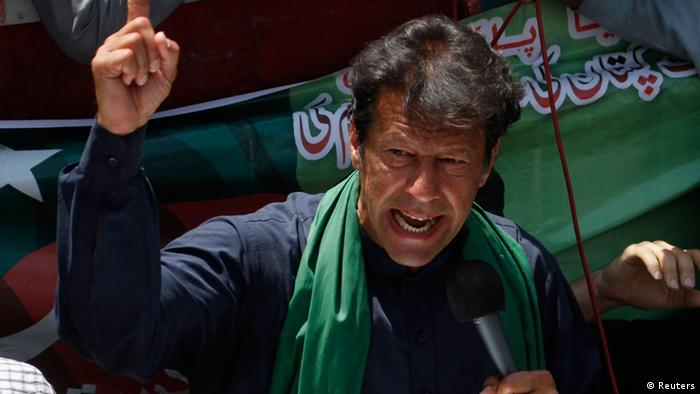 Khan entered politics in the late 1990s and now his PTI party is a force to reckon with (Reuters)
