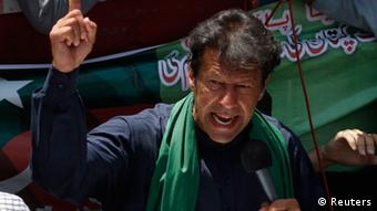 Imran Khan (Photo: REUTERS/Athar Hussain)