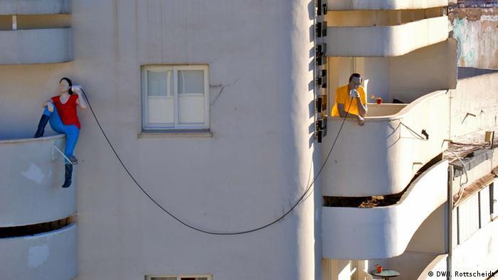 Bauhaus architecture in Tel Aviv. Photo: DW/Ina Rottscheidt.