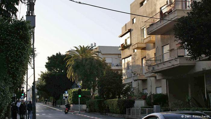 Frishman-Street, Tel Aviv in 2009. Photo: DW/Ina Rottscheidt.