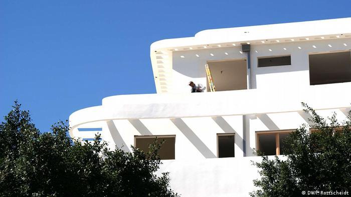 Bauhaus architecture in Tel Aviv (DW/I. Rottscheidt)