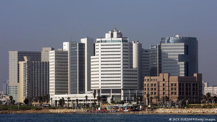 Tel Aviv skyline (JACK GUEZ/AFP/Getty Images)