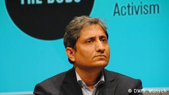 Deutschland Internet Internetkonferenz re:publica in Berlin Ravish Kumar (DW/S. Wünsch)