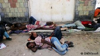 Jemen afrikanische Migranten in Harad (DW/Alsoofi)