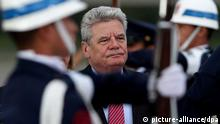 Joachim Gauck in Bogota / Kolumbien