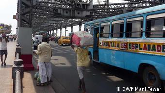 Indien Howrah Bridge