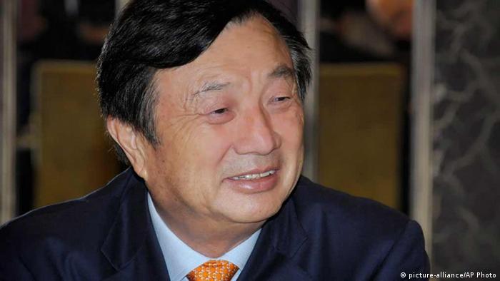 China Huawei Ren Zhengfei (picture-alliance/AP Photo)