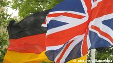 Beziehungen Deutschland Großbritannien Flaggen