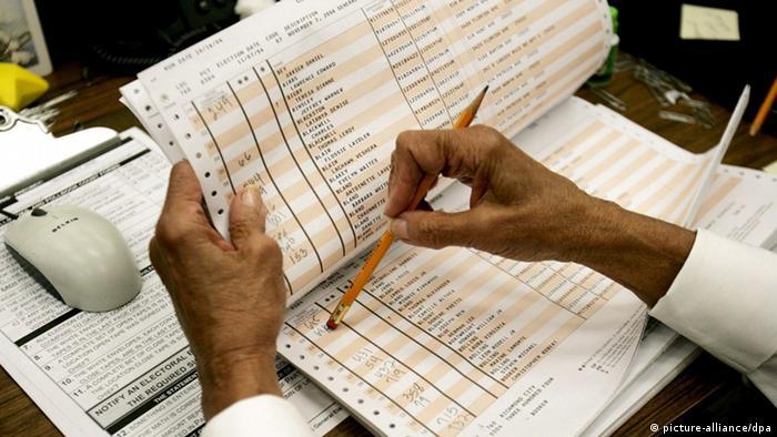 Symbolbild Wählerverzeichnis