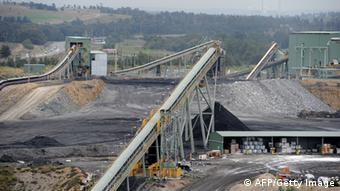 Australian coal mine TORSTEN BLACKWOOD/AFP/Getty Images