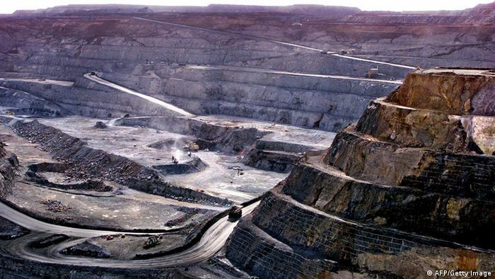 Australien Bergbau