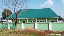 Nigeria Region Bauchi grünes Haus