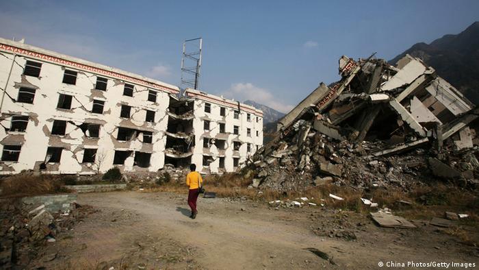 China Erdbeben 2008 Zerstörung