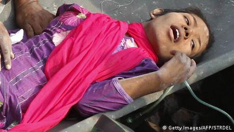 Bangladesch Überlebende nach 17 Tagen gerettet