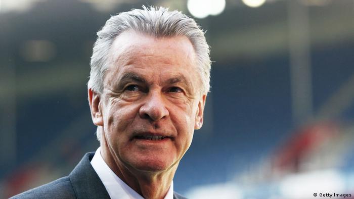 Ottmar Hitzfeld, uno de los entrenadores más exitososo del fútbol alemán.