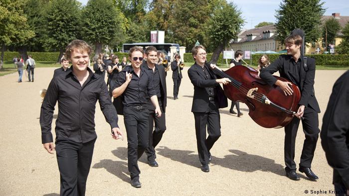 Musiker des Bundesjazzorchesters