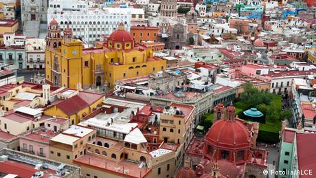 Aerial view of Mexico City Photo: © ALCE