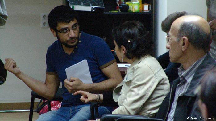 В Центре координации проблем сирийских армян