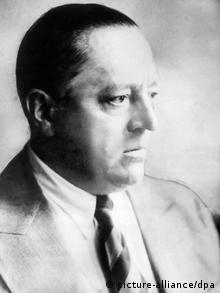 Retrato do arquiteto Ludwig Mies van der Rohe