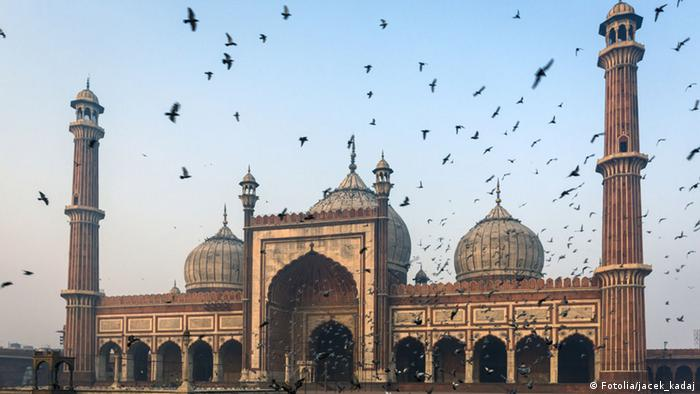 The Jama Masjid mosque in Delhi