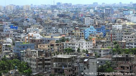 Aerial view of Dhaka. Photo: AFP PHOTO
