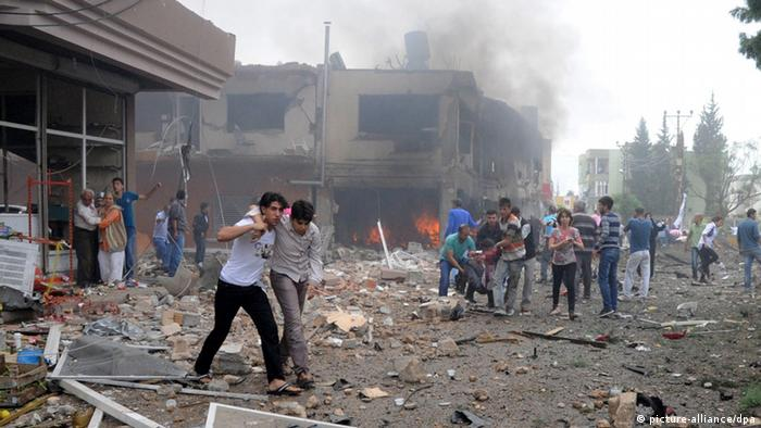 Tote und Verletzte bei Anschlag in Türkei