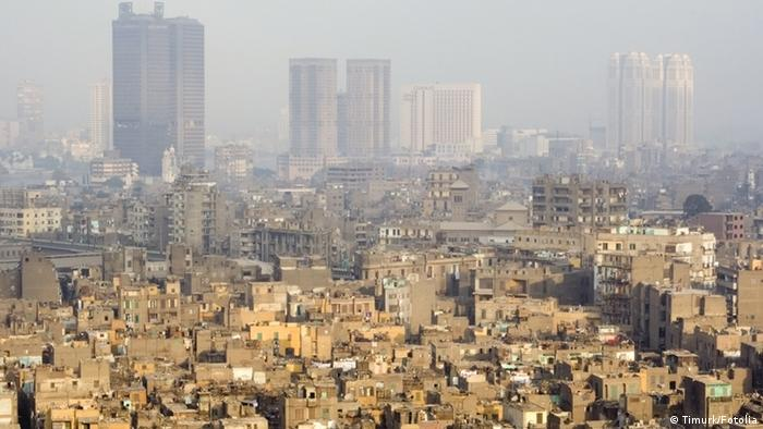 skyscrapers and slums in cairo #1235542 Timurk/Fotolia