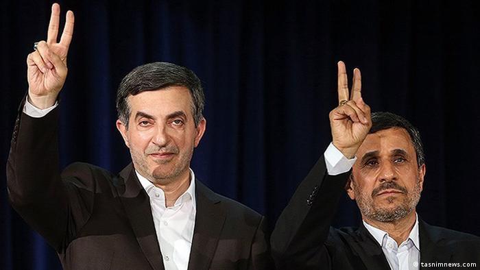 در آخرین روز ثبت نام اسفندیار رحیم مشایی را محمود احمدینژاد همراهی کرد