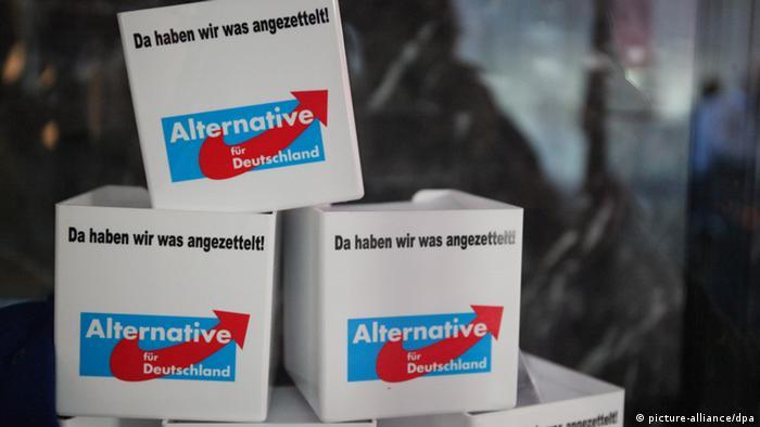 ''Альтернатива для Германии'' - немецкая партия евроскептиков