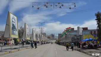 A main street in Sulaymania Copyright\ Photographer: Munaf Al.saidy