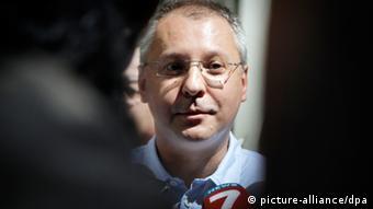 Sergey Sanishev, leader of the Bulgarian Socialist Party BSP
