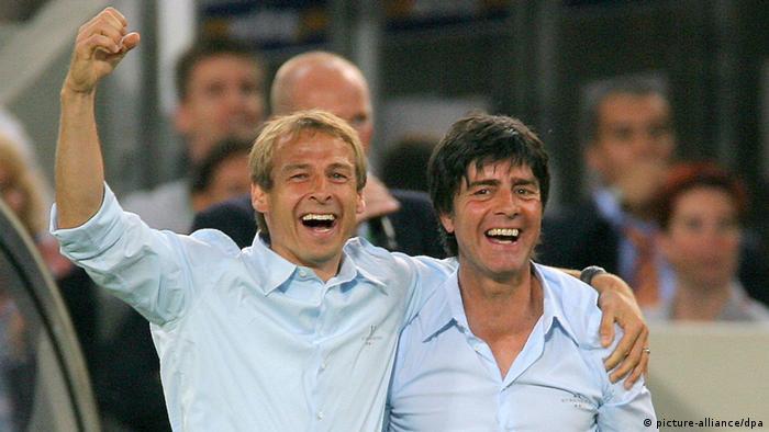Jürgen Klinsmann e Joachim Löw