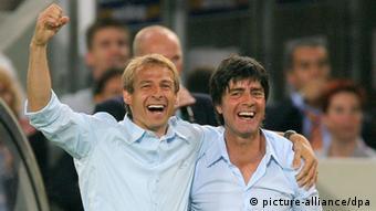 WM 2006 - Jürgen Klinsmann und Joachim Löw