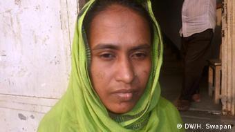 Shilpi Akhtar, Textile-Arbeiter