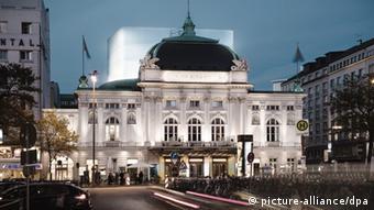 Здание Немецкого драматического театра в Гамбурге