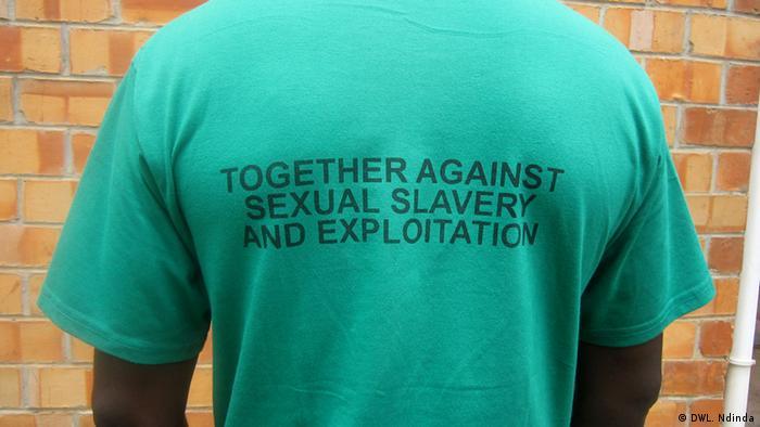 A victim of male rape. (Photo: Leylah Ndinda/DW)