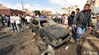 Libyen Bengasi Anschlag Autobombe Bombe