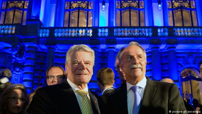 Theater Municipal in Sao Paulo Brasilien Eröffnung Joachim Gauck