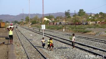 Bahnhof Moatize - Linha de Sena