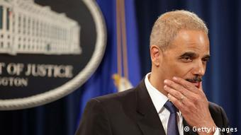 Eric Holder (Photo by Chip Somodevilla/Getty Images)