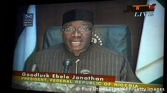 Nigerian President Goodluck Jonathan. (Photo: PIUS UTOMI EKPEI/AFP/Getty Images)